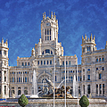 Madrid City Hall by Joan Carroll