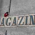 Magazine St. Sign II by Julia Rigler