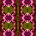 Magenta Crystal Pattern by Amy Vangsgard