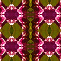 Magenta Crystals Pattern 2 by Amy Vangsgard
