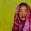 Magenta Girl by Jun Jamosmos