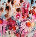 Magenta May Flowers by Shirley Sykes Bracken