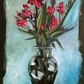 Magenta Oleander by H R  Kamins