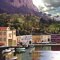 Magic Dawn Resort by Ron Chambers