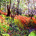 Magic Flower Forest by David Lloyd Glover