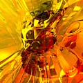 Magic Honeycomb Abstract by Alexander Butler