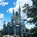 Magic Kingdom Cinderella's Castle #3 by Debra K Gallagher