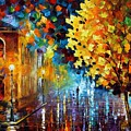 Magic Rain by Leonid Afremov