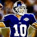 Magical Eli Manning by Paul Van Scott