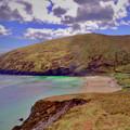 Magical Keem Beach Crowned By Clouds From Heaven by Paul Mc Namara