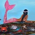 Magical Mystic Mermaid by Leslie Allen
