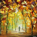 Magical Park by Leonid Afremov