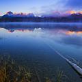 Magical Sunrise Along Sawtooth Mountain Range Stanley Idaho by Vishwanath Bhat