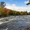 Magnetawan River In Fall by Les Palenik