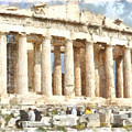Magnificent Acropolis In Athens by Ashish Agarwal