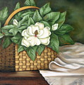 Magnolia Basket by Ruth Bares