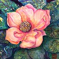 Magnolia In The Evening by Norma Boeckler