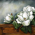 Magnolia On A Chest by Ruth Bares