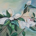 Magnolia Summer by Margaret Fortunato