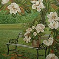Magnolia Tree by Tresa Crain