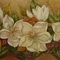 Magnolias by Tresa Crain