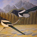 Magpies by Alan Suliber