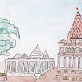 Mahakaleshwar Jyotirlinga by Keshava Shukla