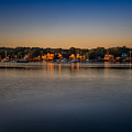 Mahone Bay From Oakland by Mark Llewellyn