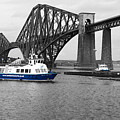 Maid Of The Forth In Blue. by Elena Perelman
