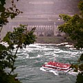 Maid Of The Mist Canadian Boat by Jennifer Craft