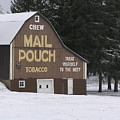Mail Pouch Barn by Jeanette Oberholtzer