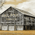 Mail Pouch Barn - Us 30 #3 by Stephen Stookey