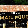 Mail Pouch by Michael L Kimble
