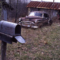 Mailbox Car by Curtis J Neeley Jr
