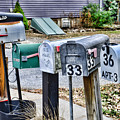 Mailboxes by Paul Ward