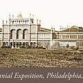 Main Building, Centennial Exposition, 1876, Philadelphia by A Gurmankin