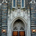 Main Entrance To Chapel by Cynthia Guinn