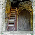 Main Entrance To St Mary's Church At Brading by Rod Johnson