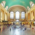 Main Hall Grand Central Terminal, New York by Antonio Gravante