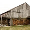 Main Part Of Amana Farmer's Market Barn Amana Ia by Cynthia Woods