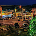 Main Street Christmas by Bluemoonistic Images
