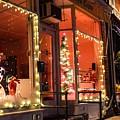 Main Street During The Holiday Season by Sven Kielhorn