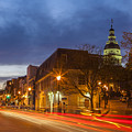 Main Street In Annapolis by Richard Nowitz