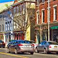 Main Street In Catskill Ny by Nancy De Flon
