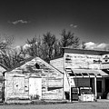 Main Street In Fort Shaw, Montana by Dariusz Janczewski