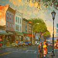 Main Street Nyack Ny  by Ylli Haruni