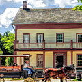 Main Street Of A Bygone Era At Old World Wisconsin by Christopher Arndt