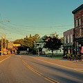 Main Street - Old Forge New York by David Patterson