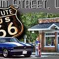 Main Street, Usa Camaro by Paul Kuras