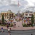 Main Street Usa Panorama by Stuart Rosenthal